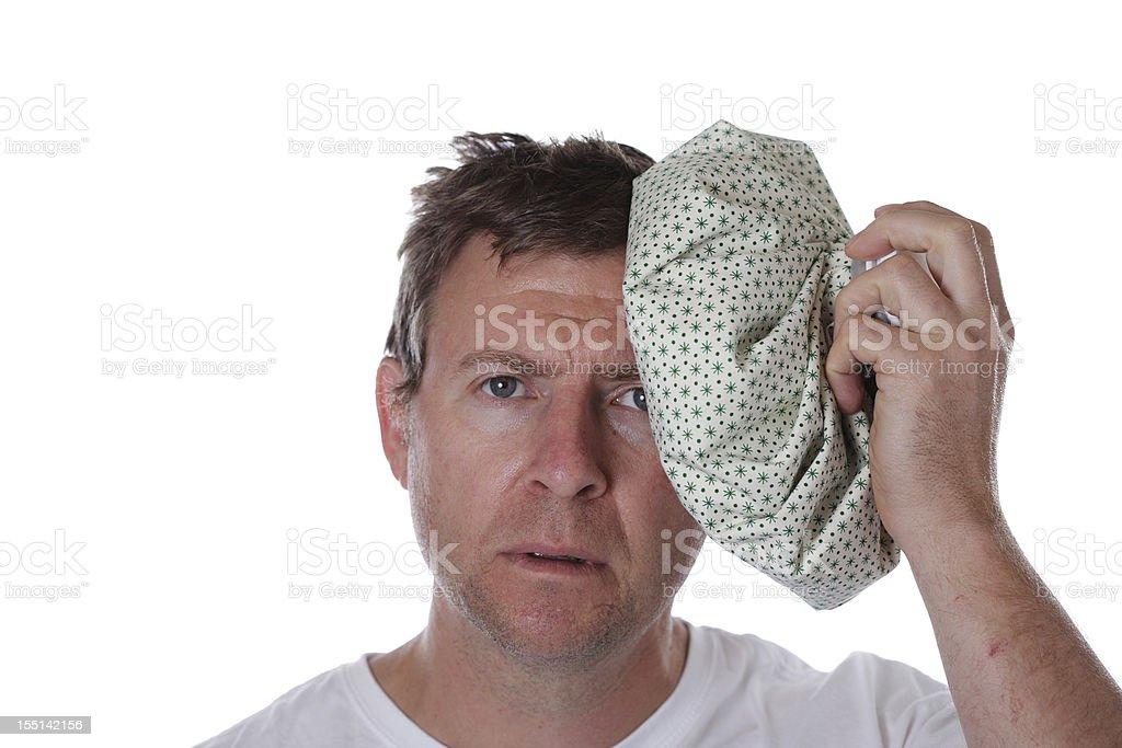 Sick Man stock photo