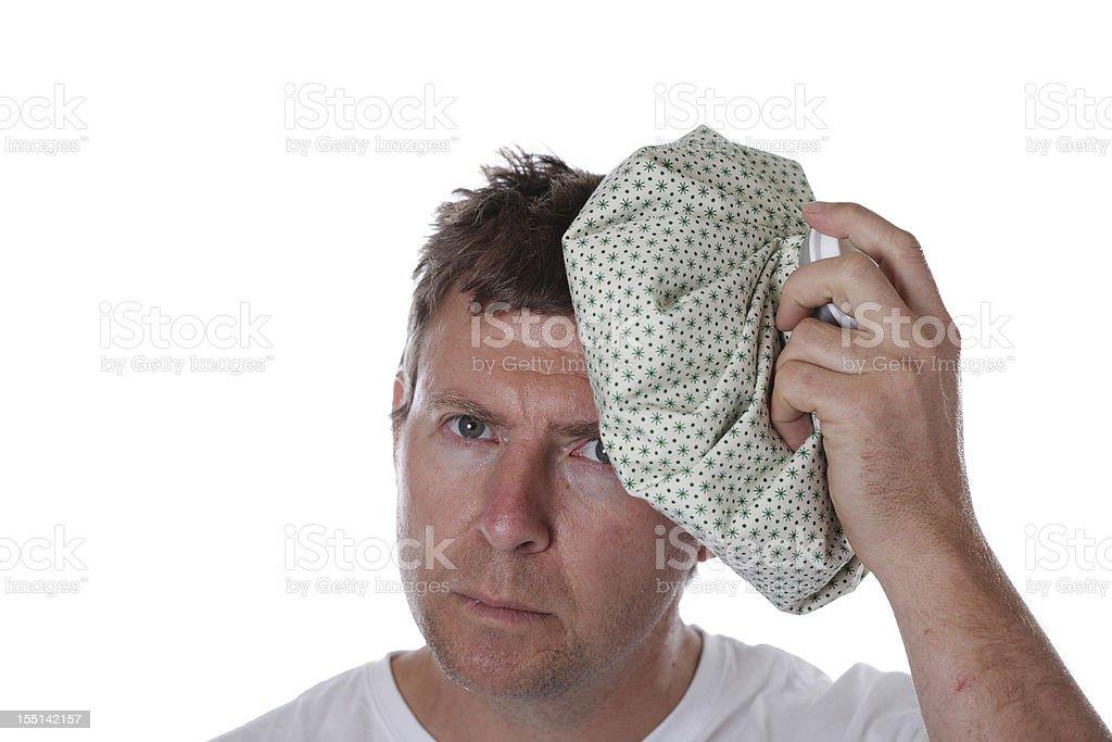 Sick Man royalty-free stock photo