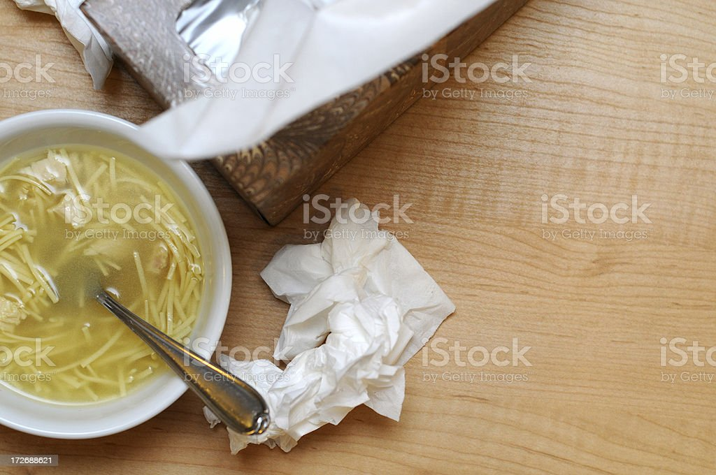 Sick royalty-free stock photo