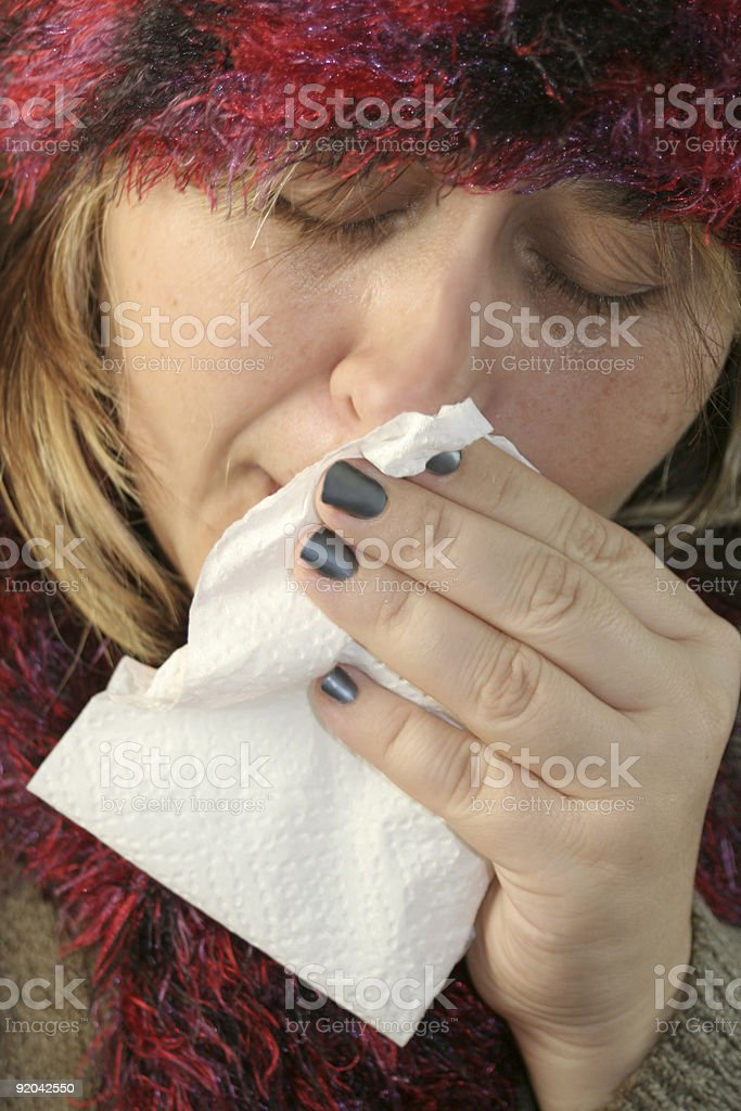 sickness royalty-free stock photo