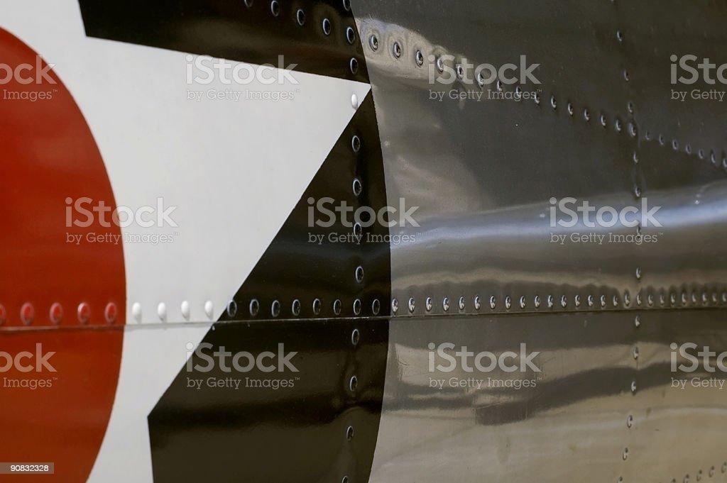 Side Detail of BT-13 Valiant stock photo