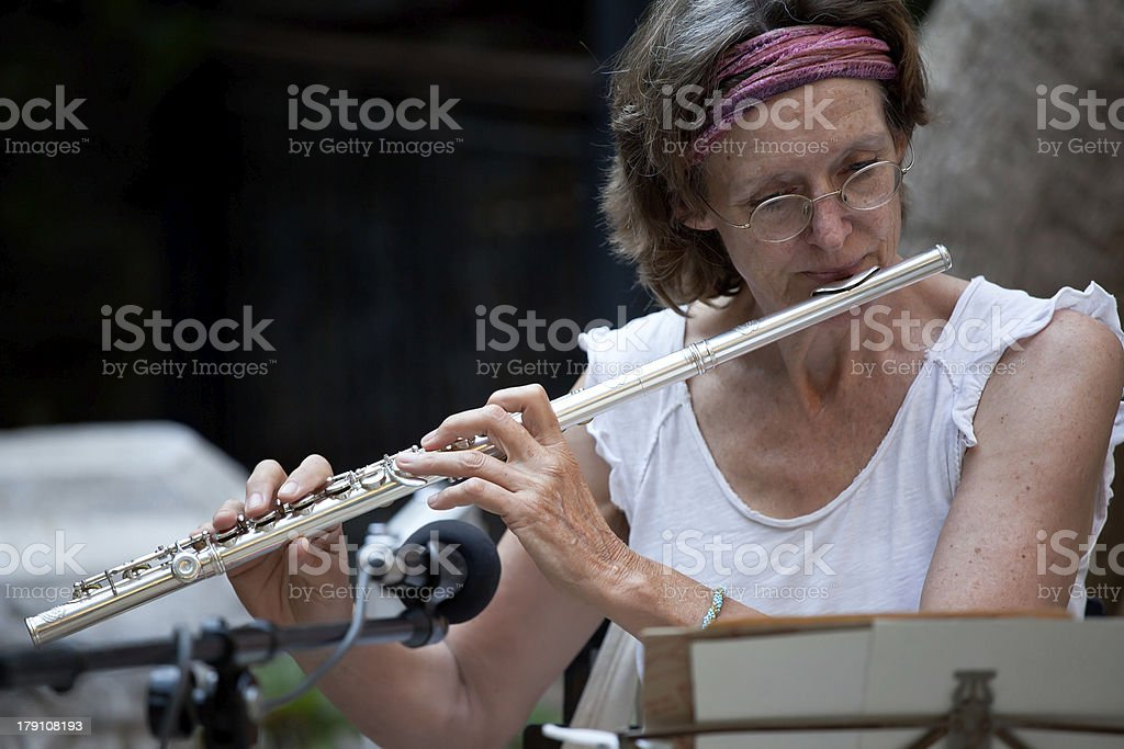 Side Flute royalty-free stock photo