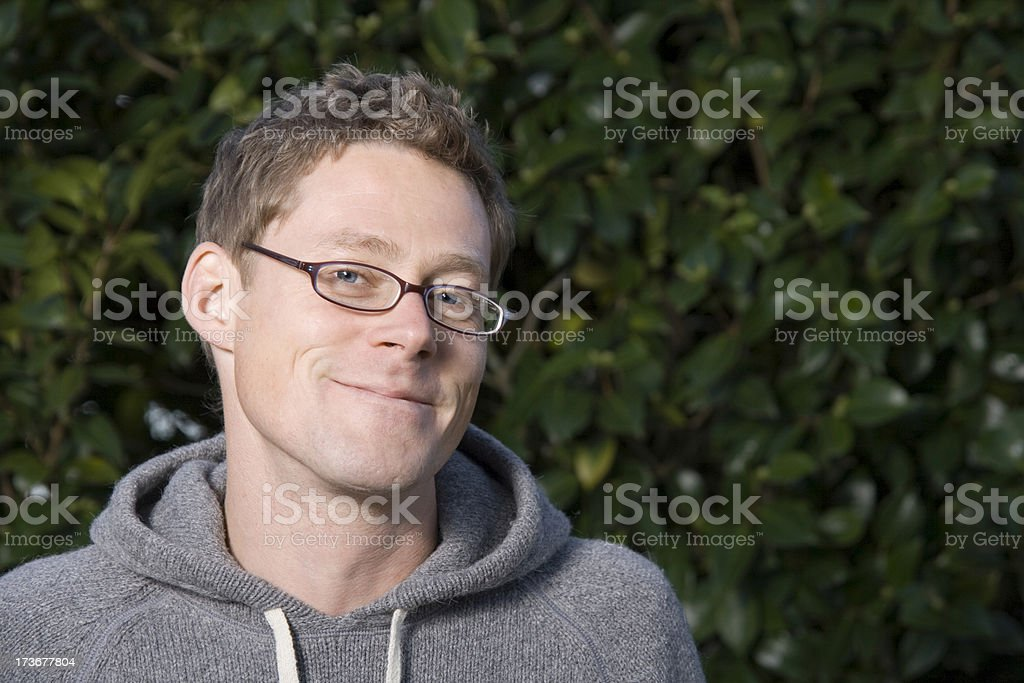 Side Grin royalty-free stock photo