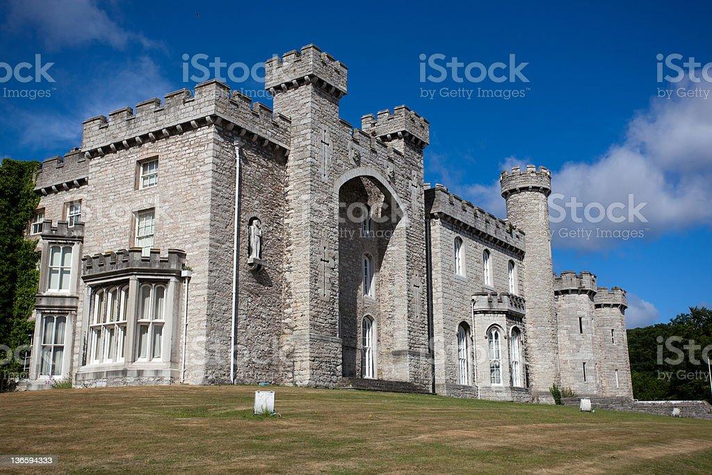 サイドの Bodelwyddan 城 ロイヤリティフリーストックフォト