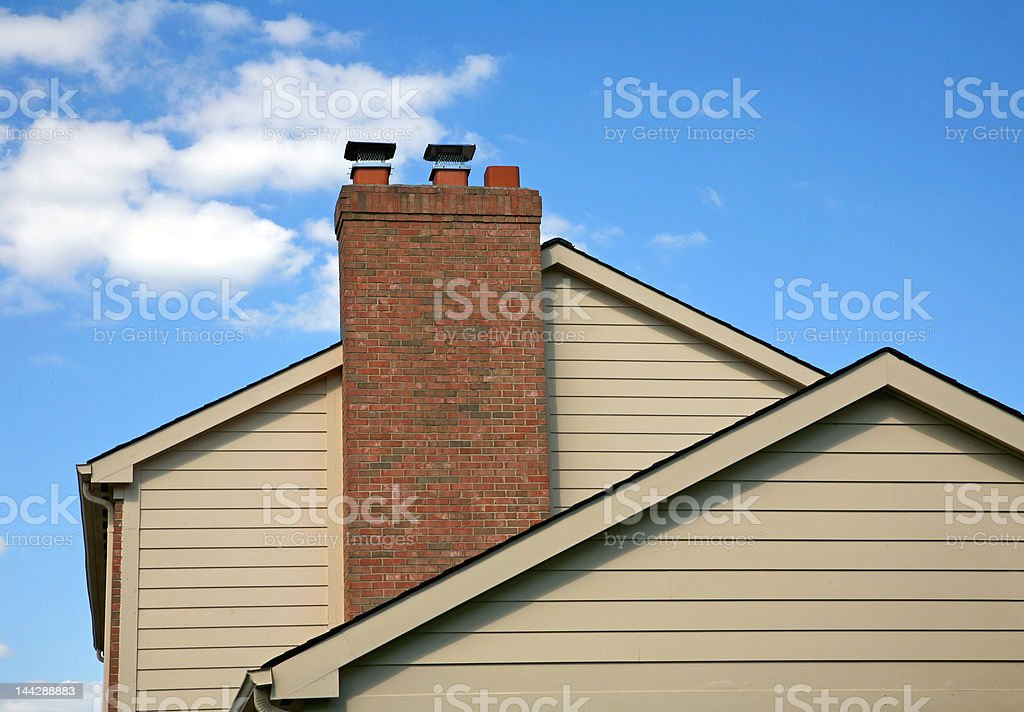 Side of House stock photo