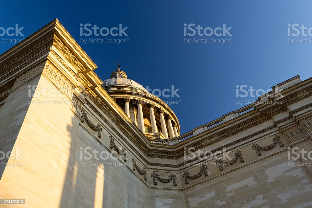 Side of the Panthéon stock photo