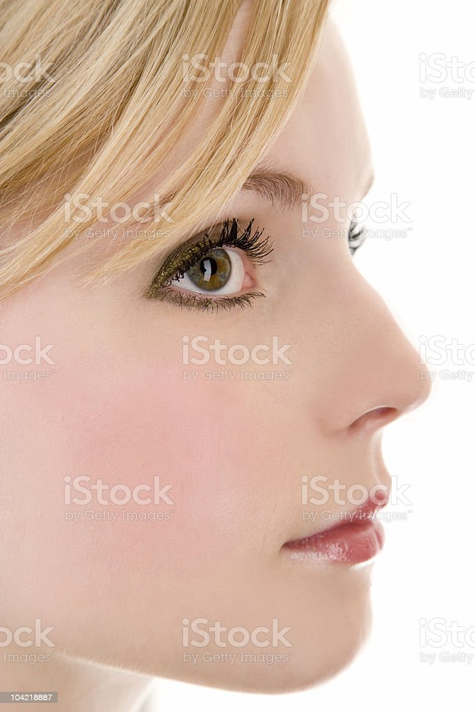 Side Profile royalty-free stock photo