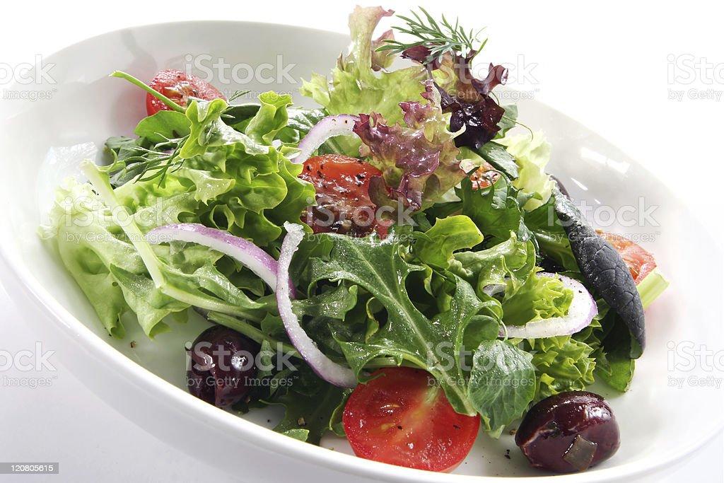 Side Salad stock photo