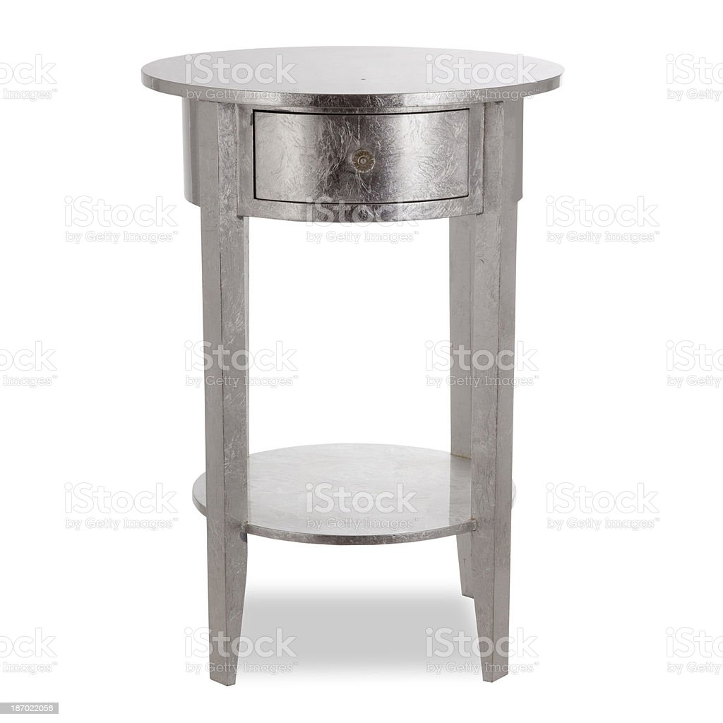 Side table stock photo