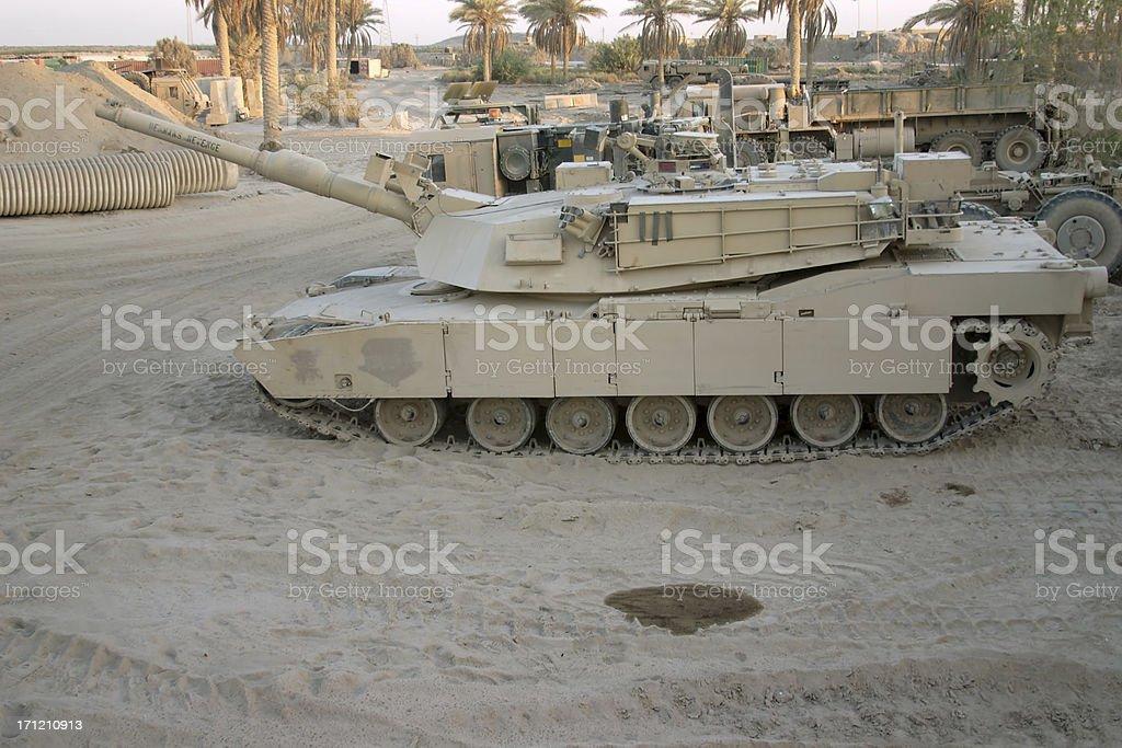 Side Tank stock photo