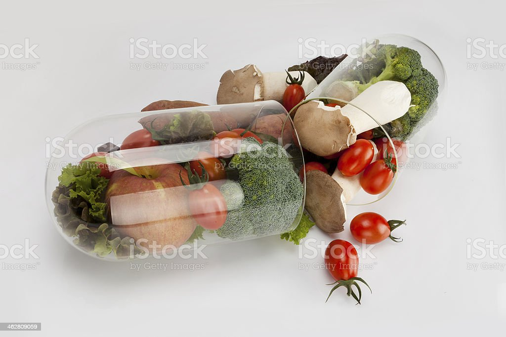 side view in vegetable stock photo
