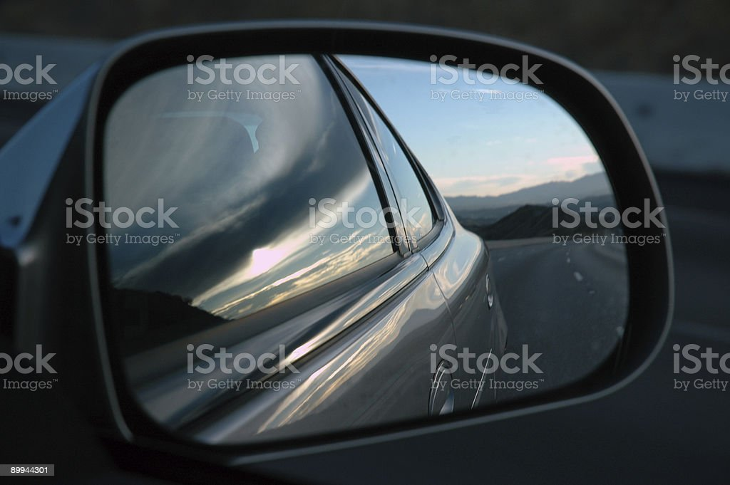 Side View Mirror royalty-free stock photo