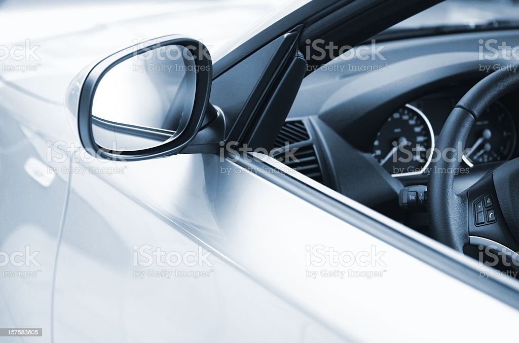 side view of a luxus car stock photo