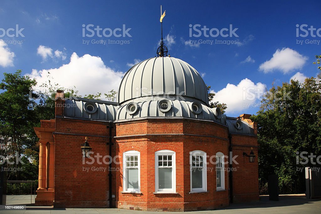 Side view of Altazimuth Pavilion stock photo