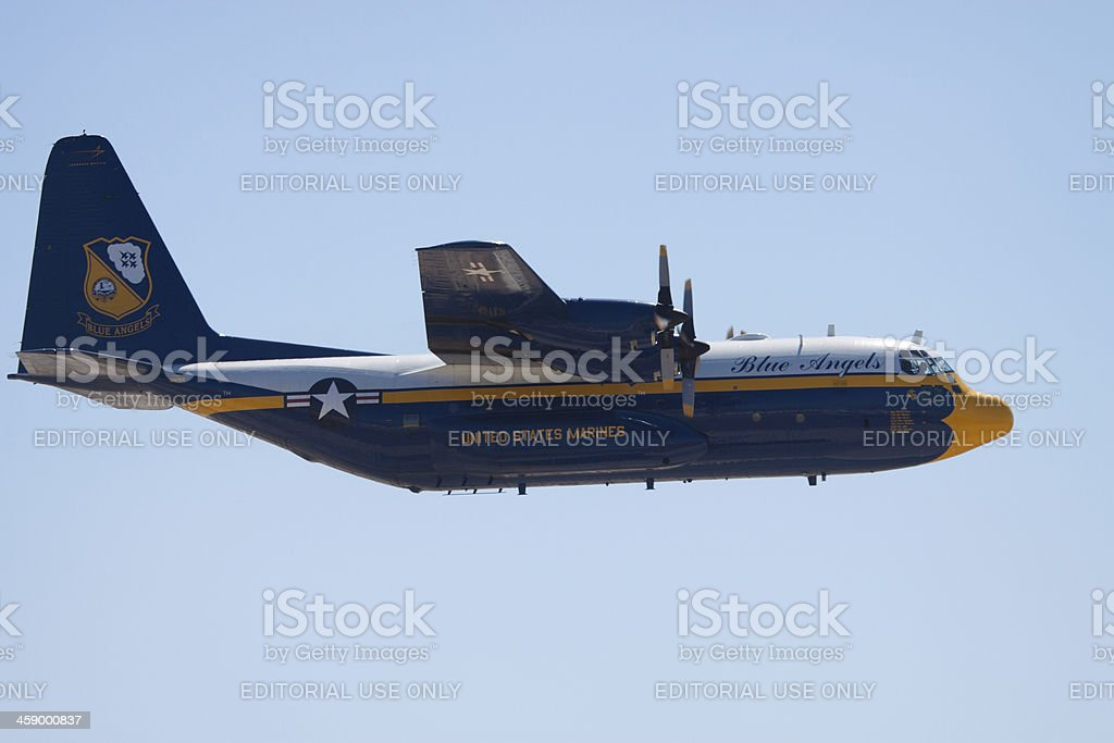 Side View of Fat Albert royalty-free stock photo