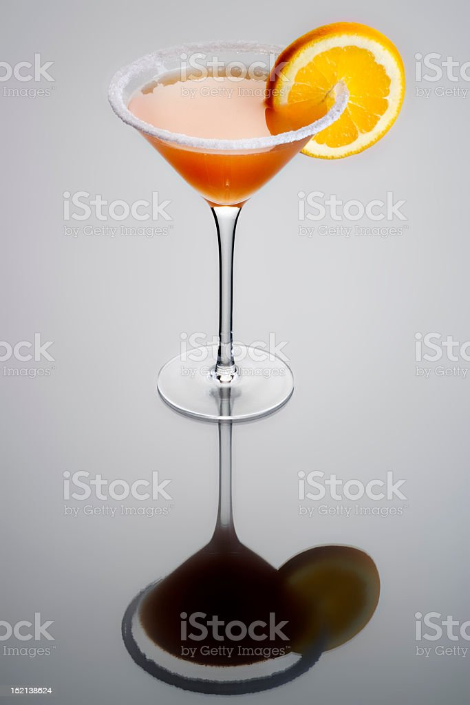 Sidecar Cocktail stock photo