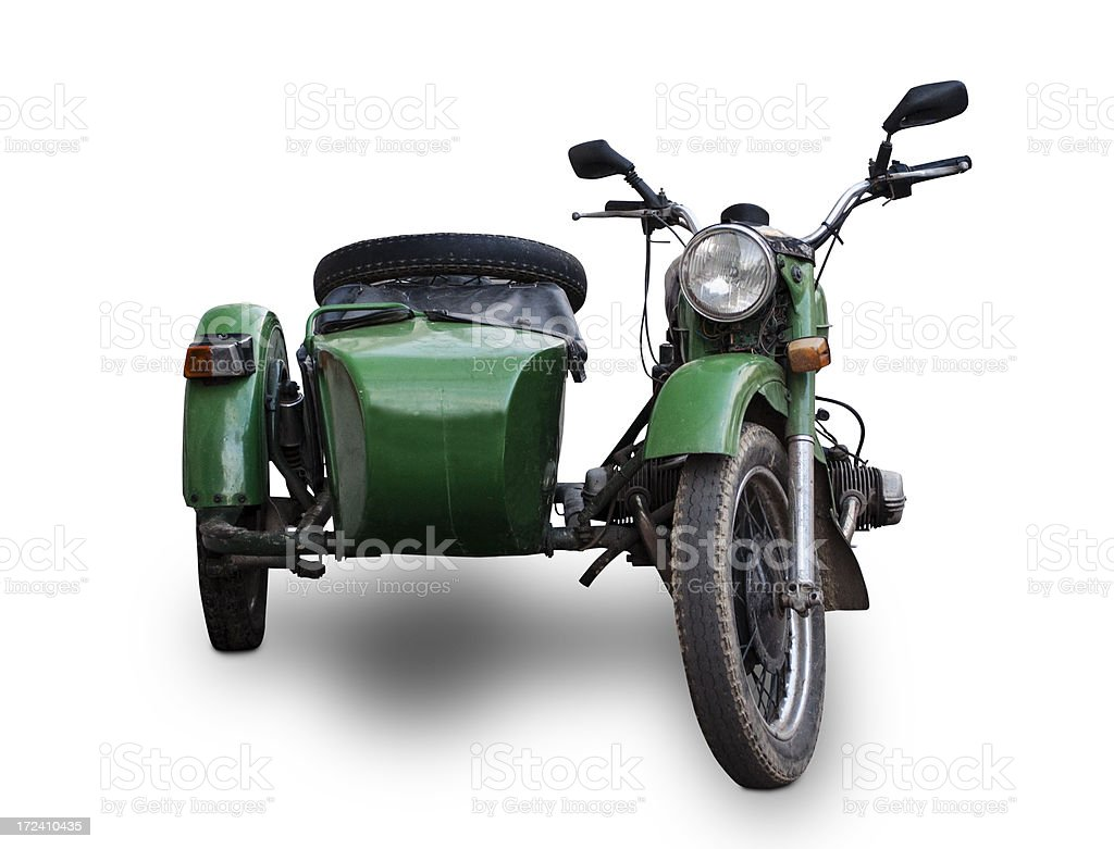 Sidecar royalty-free stock photo