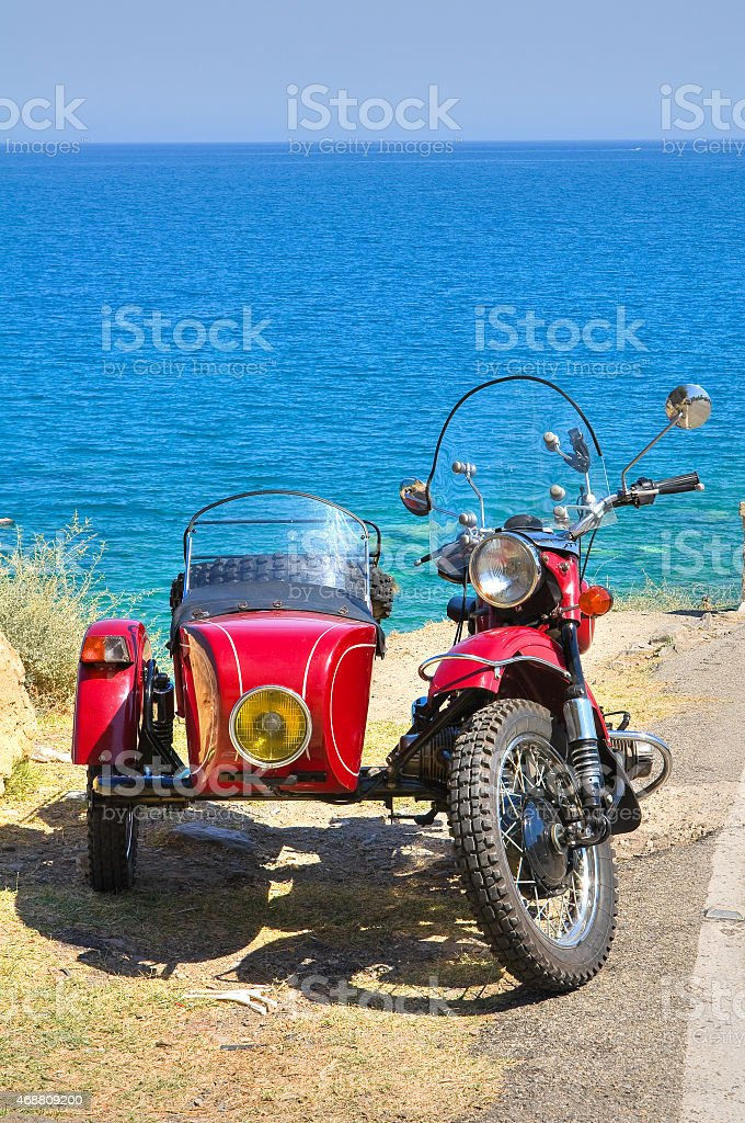 Sidecar. stock photo