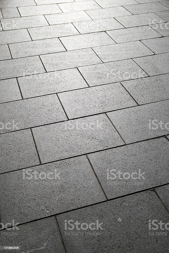 Sidewalk pavement abstract background stock photo