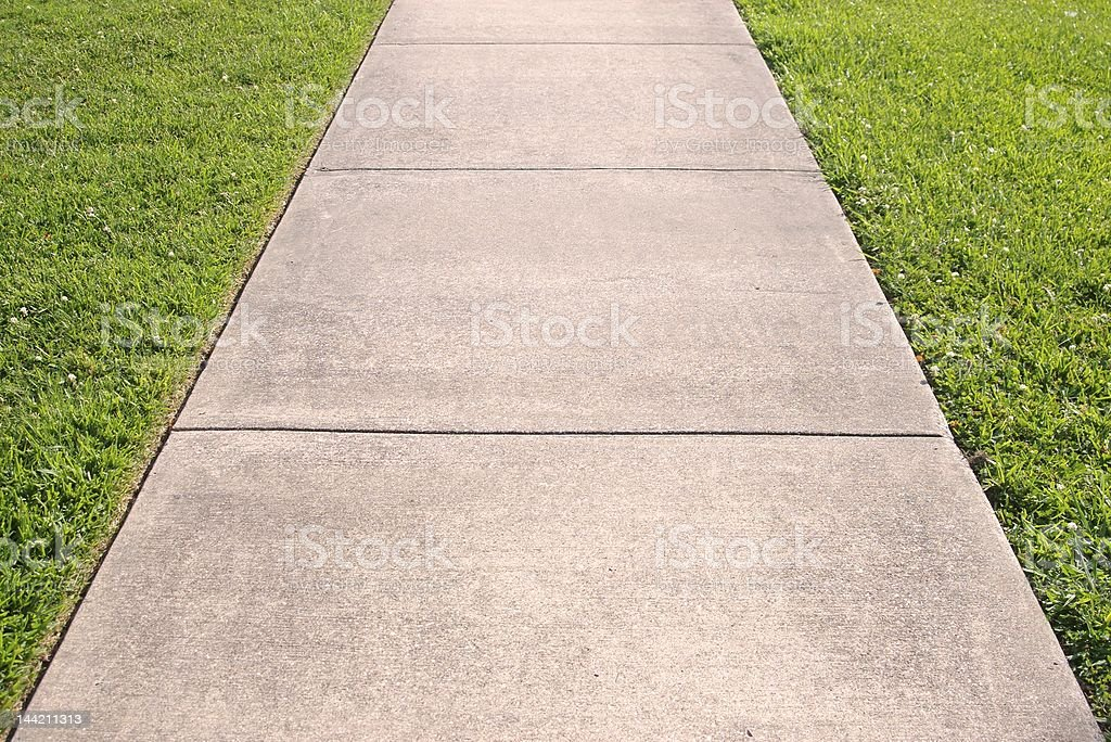 sidewalk stock photo