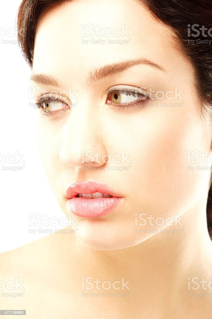 Sideways Glance royalty-free stock photo