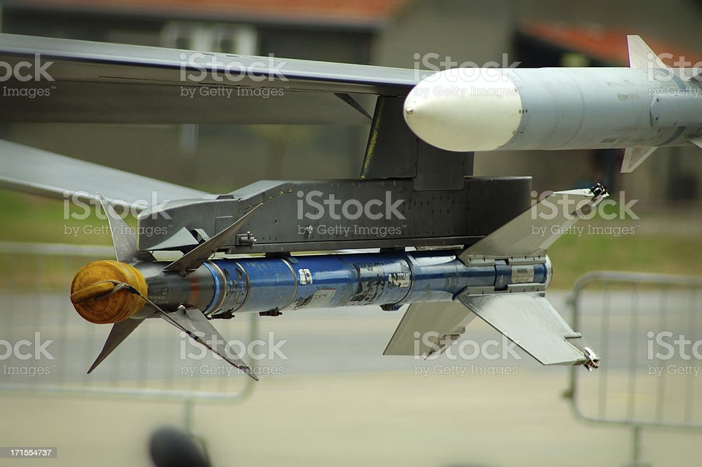 sidewinder missile royalty-free stock photo