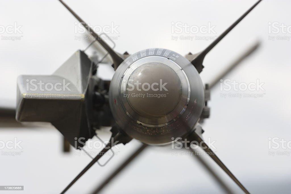 AIM-9M sidewinder stock photo