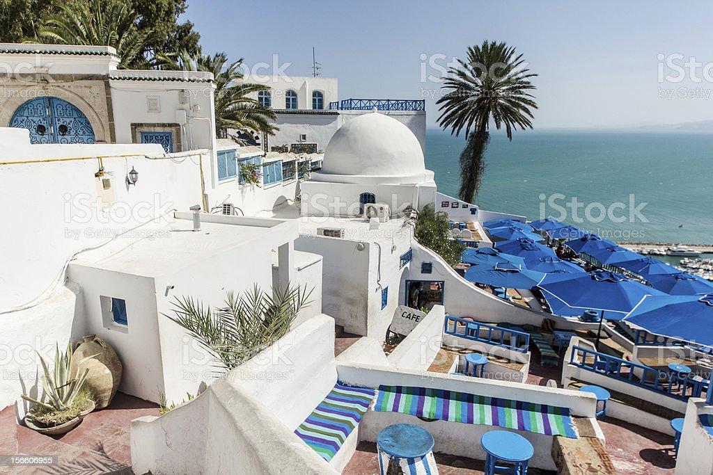 Sidi Bou Said royalty-free stock photo