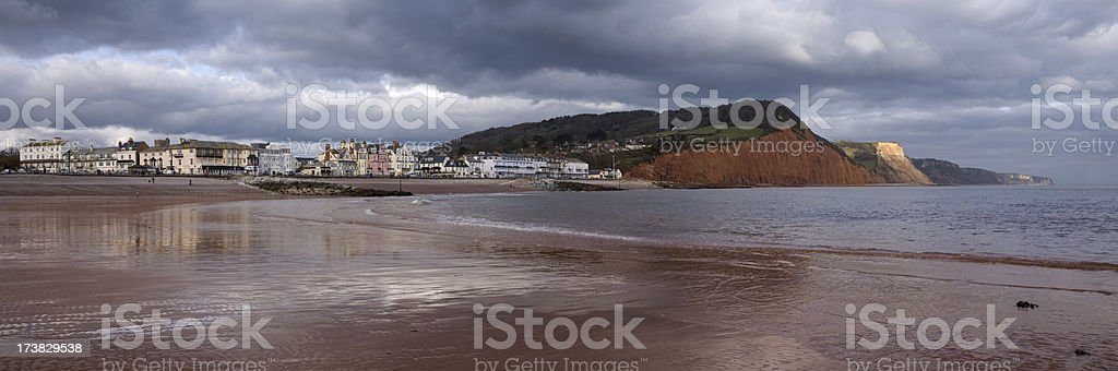 Sidmouth royalty-free stock photo