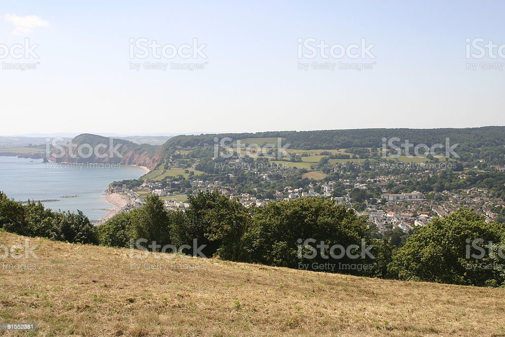 Sidmouth Views royalty-free stock photo