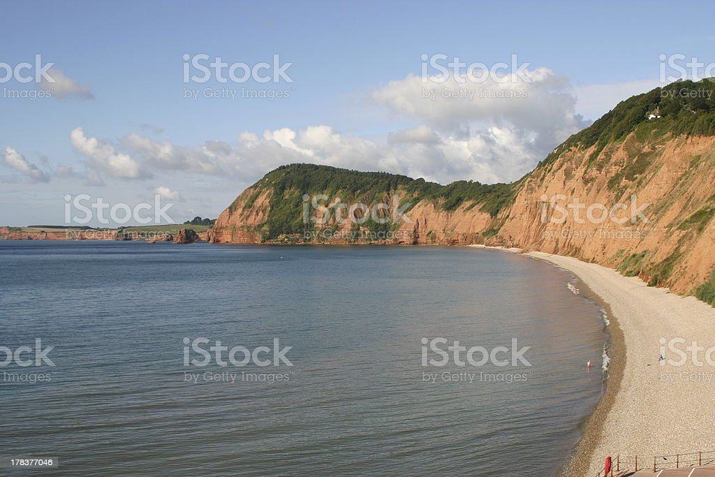 Sidmouths Stunning Cliffs royalty-free stock photo