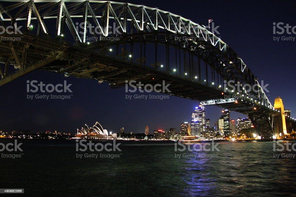 Sidney, Australia - Harbour Bridge stock photo
