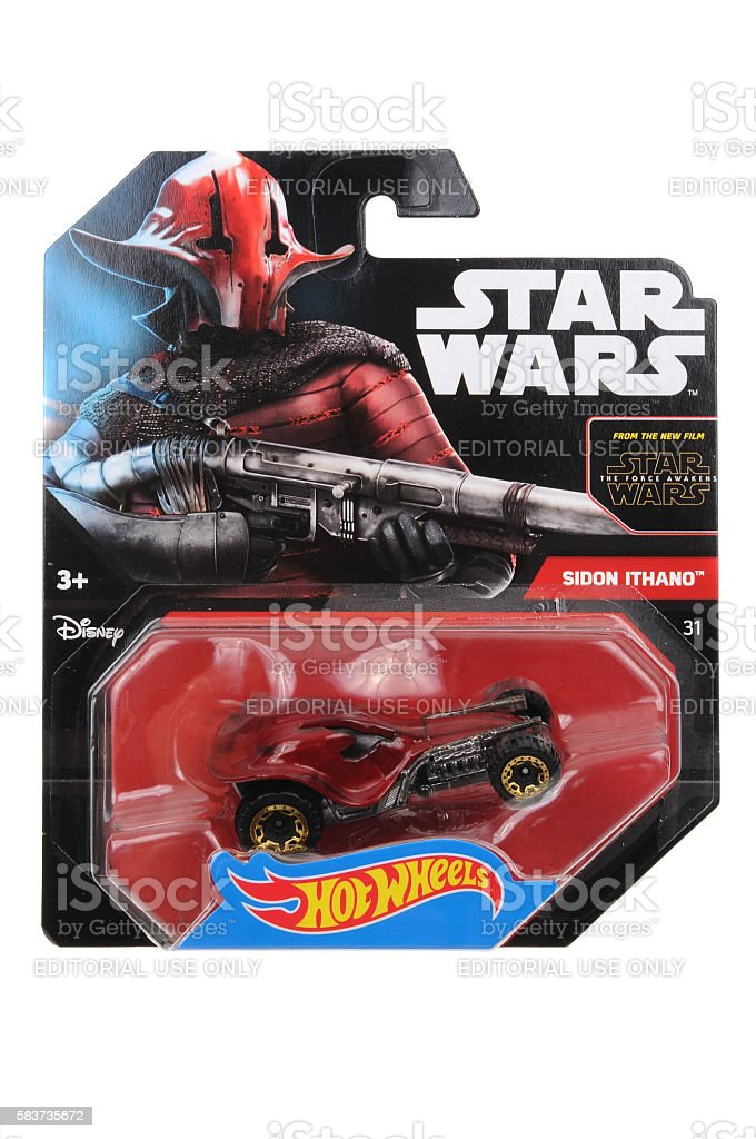 Sidon Ithano Hot Wheels Diecast Toy Car stock photo