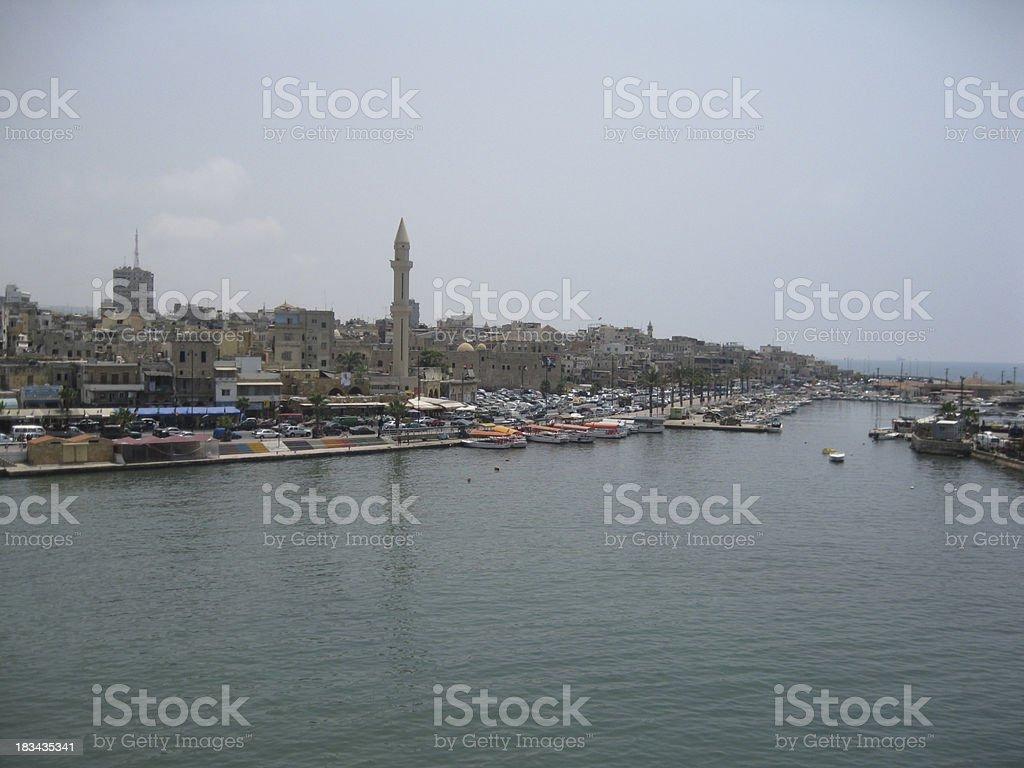 Sidon, Lebanon stock photo
