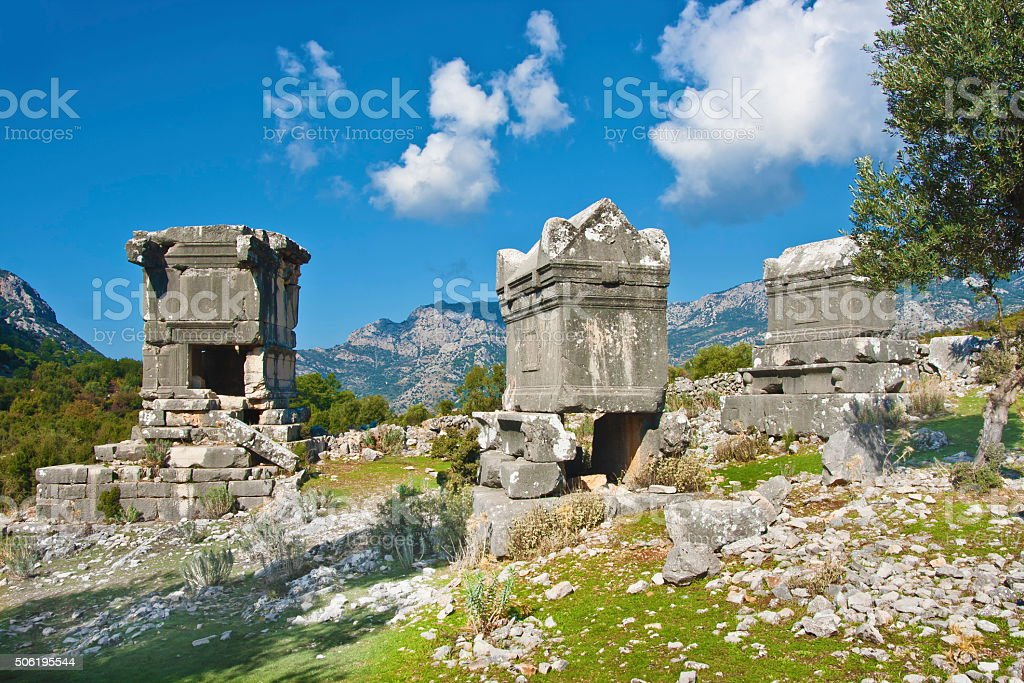 Sidyma,Turkey stock photo
