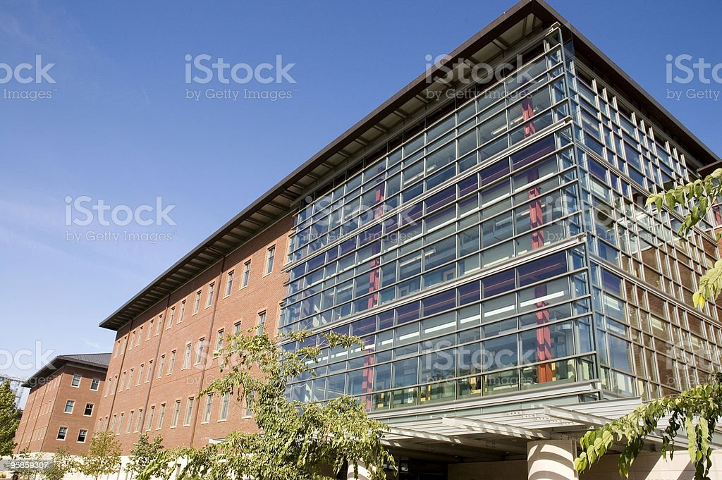 Siebel Center royalty-free stock photo