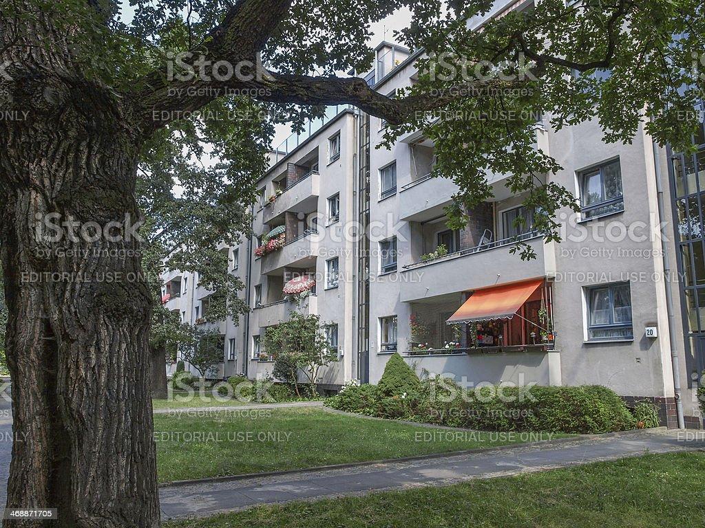 Siedlung Siemensstadt royalty-free stock photo