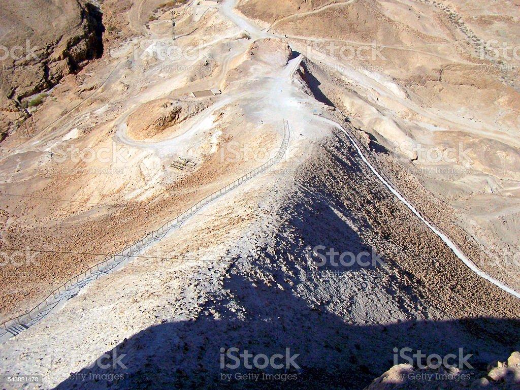 Siege Mound stock photo