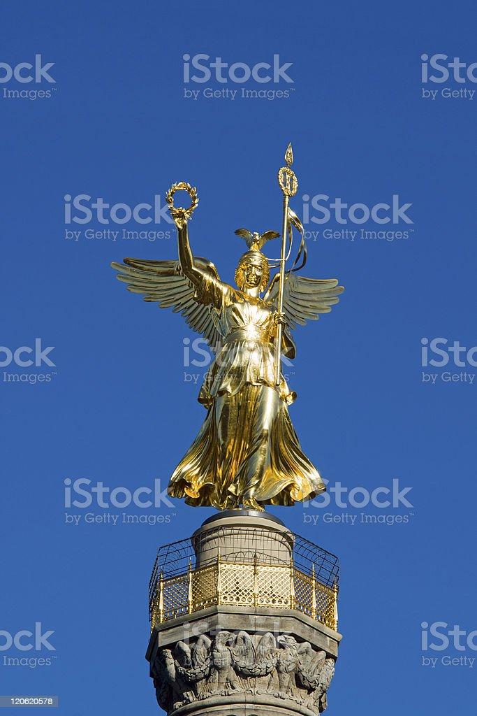 Siegessaeule in Berlin stock photo