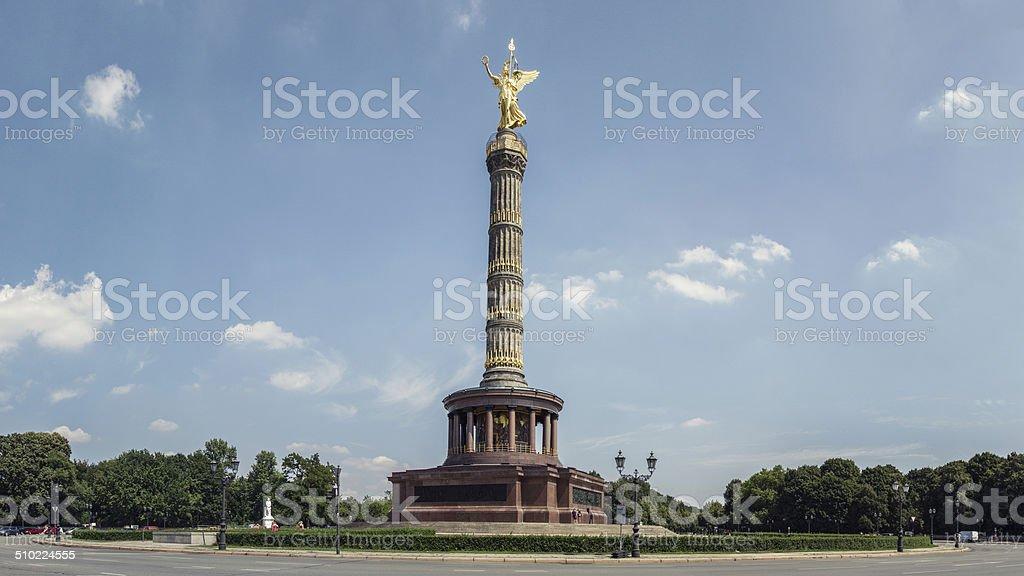 Siegessäule, Berlin stock photo