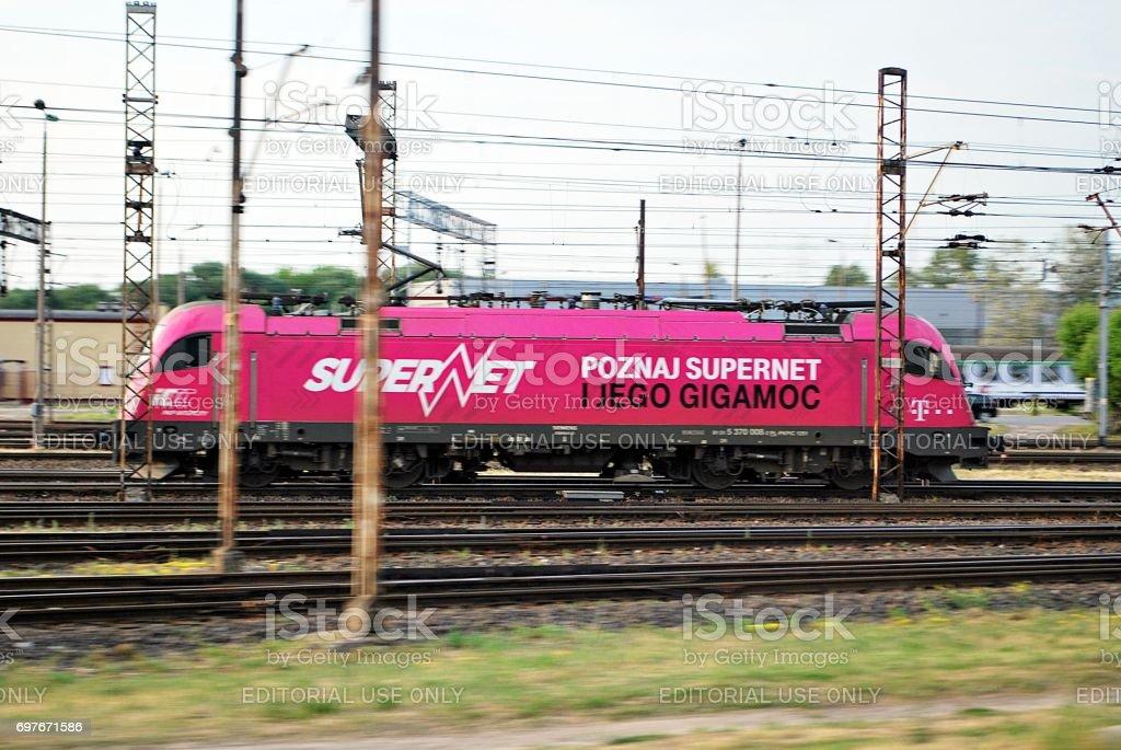 Siemens Locomotive Hussar stock photo