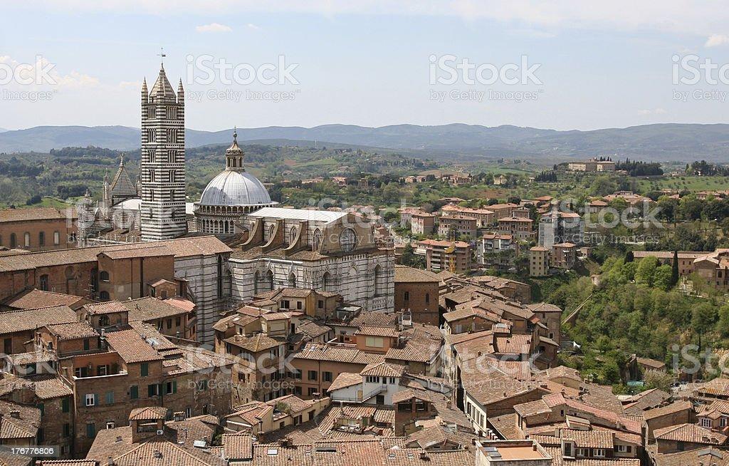Siena Cathedral, Il Duomo royalty-free stock photo