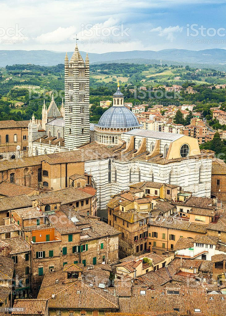 Siena Cathedral (Tuscany, Italy) royalty-free stock photo