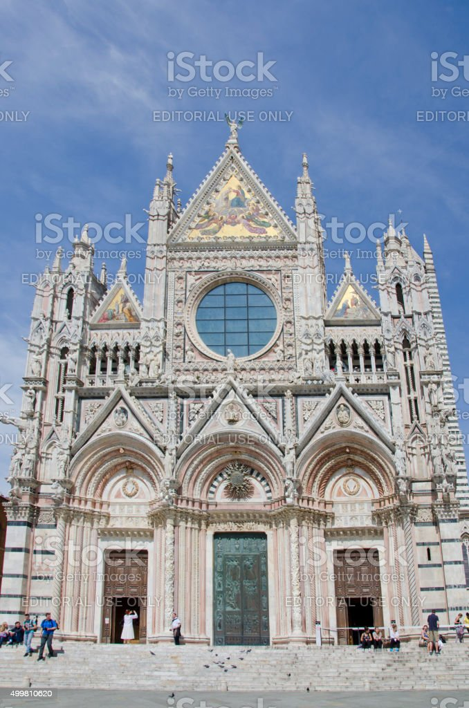 Siena Cathedral stock photo