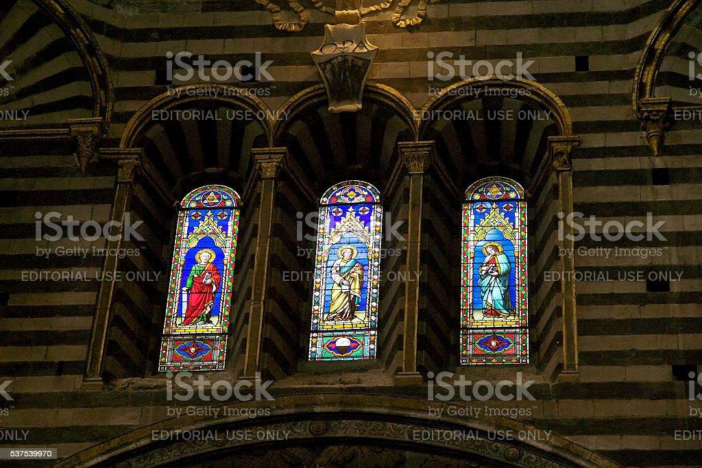 Siena Cathedral, Siena, Tuscany, italy stock photo