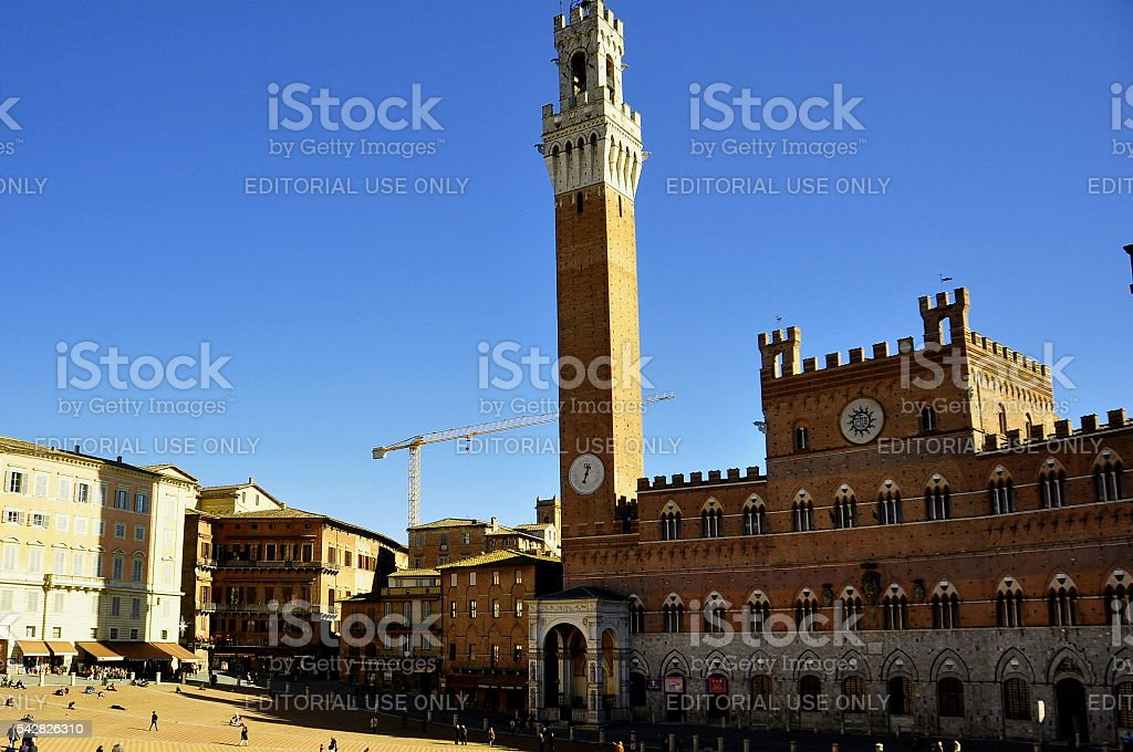 Siena Italy Tuscany stock photo