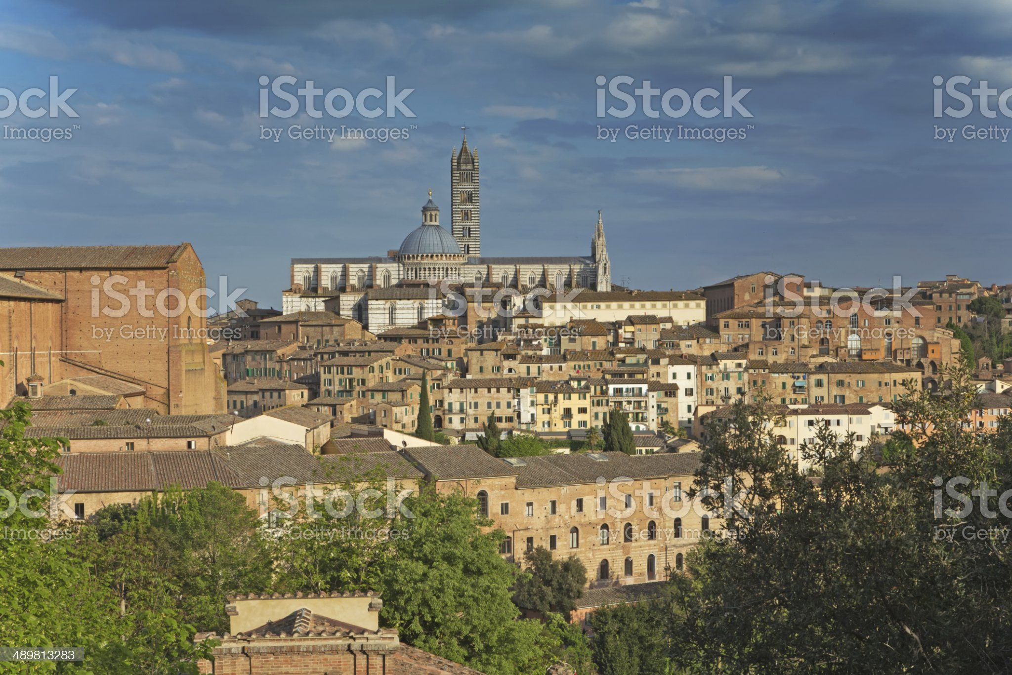 Siena (Tuscany, Italy) royalty-free stock photo