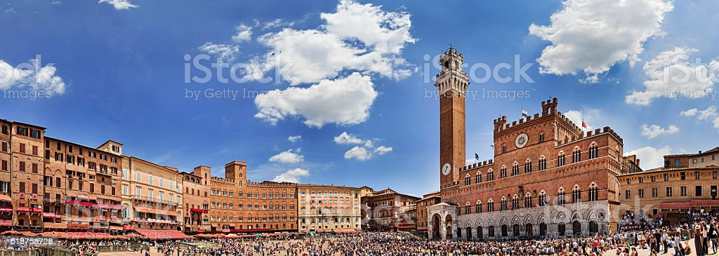 Siena Square Day Pan stock photo