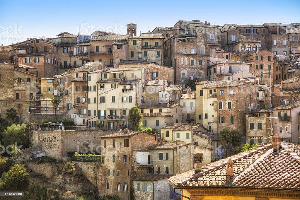 Siena, Tuscany, Italy. stock photo