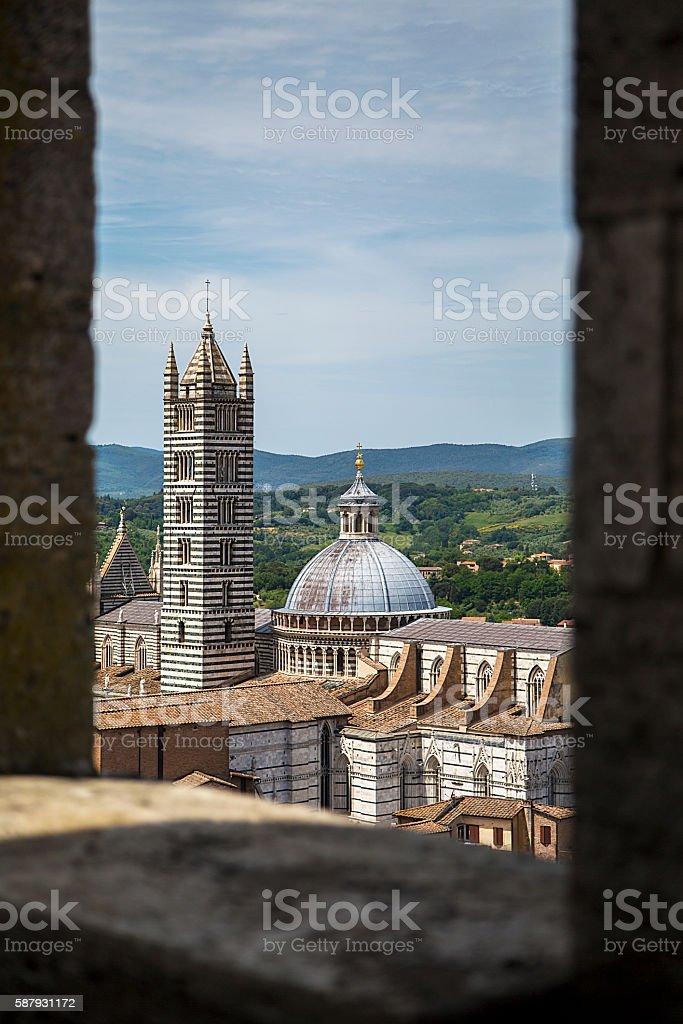 Sienna, Italy stock photo